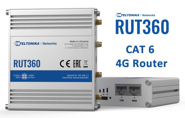 Teltonika RUT360 CAT6 4G Router