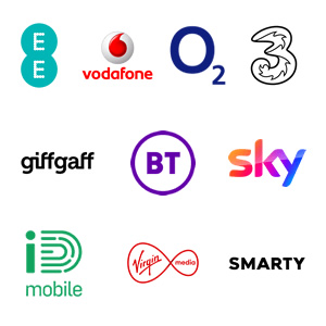 UK 4G and 5G Networks and SIM Card Providers