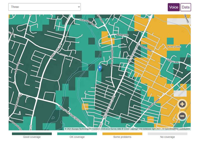 4G Signal Checker - 4G Coverage Map