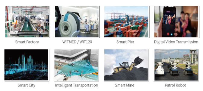 Industrial 5G Router Applications