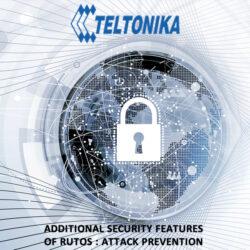Teltonika RUTOS Security Features